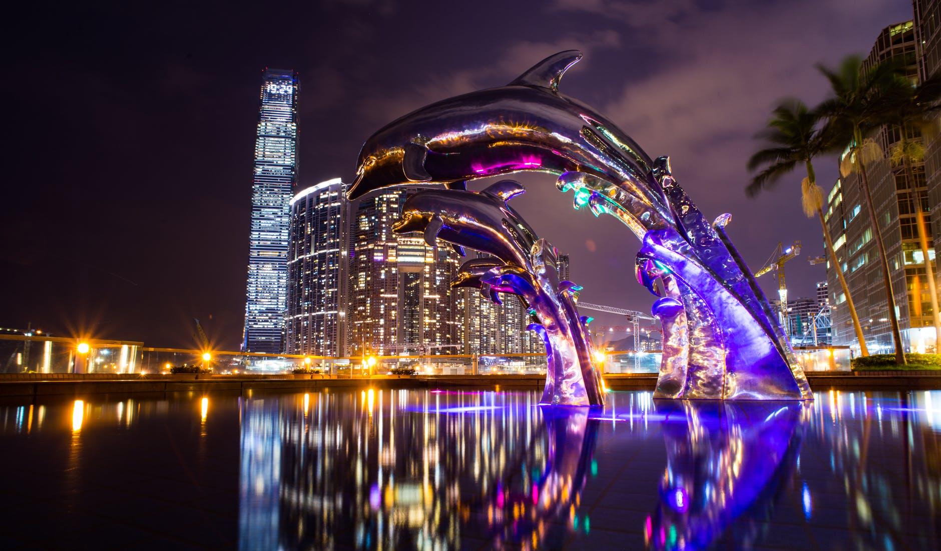architecture asia bridge buildings